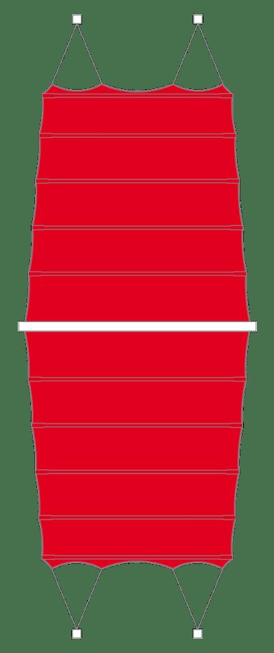 Bahama C4sun Doppelsegel Anlagen